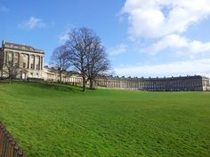 The wonderful Royal Crescent, Bath. UK