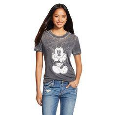 Mickey Graphic Tee Black - Disney