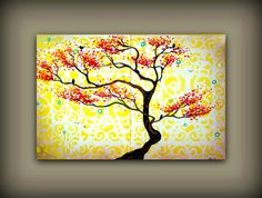 """Lemon Morning""...super vibrant and happy yellow themed painting."