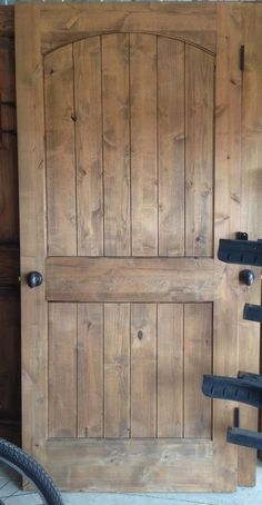 Rustic Interior Knotty Alder Door