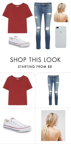 """Simple Girl"" by kittykitkat132 ❤ liked on Polyvore featuring rag & bone/JEAN, Converse, ASOS and ETUÍ"