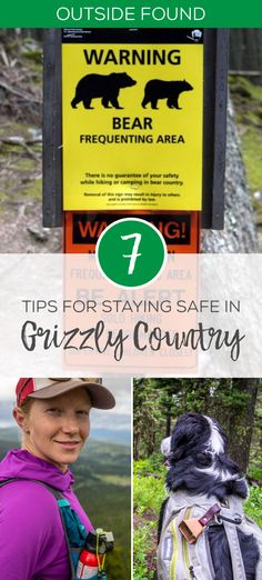 Here are our favorite tips for staying safe in grizzly bear country, whether you're hiking, running, camping, or mountain biking. Learn the stats on bear spray, how to keep your dog safe with bear bells and tips for hiking alone.