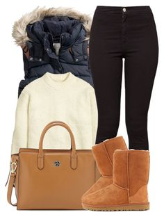 10|18|15 by miizz-starburst ❤ liked on Polyvore featuring HM, American Apparel, Tory Burch and UGG Australia