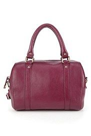M Collection - Bolso abombado de piel, , catlanding