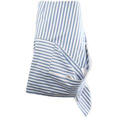 Celine Skirts (125.350 RUB) ❤ liked on Polyvore featuring skirts, blue, celine…