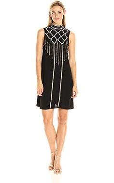 ff51f60d5f MINKPINK Women s Opulent Embroidered Shift Dress