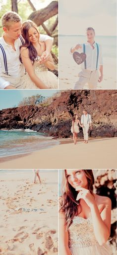 Maui Engagement Session by Mariah Milan Photography   Style Me Pretty