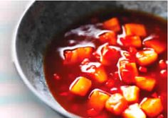 Slimming recipe: Sweet and sour sauce