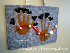 The cutest Christmas handprint crafts | BabyCentre Blog