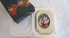 Vintage savon de Noël Avon en boite d'origine par karmolijntje