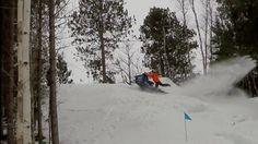 Wild Ride To The Top - Snowmobile Hill Climb