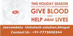 """@Jeevandata means """"Giving blood & Saves life"""". It's an online Blood bank & donors list websites in Bhopal, Madhya Pradesh. We provide donor list and blood bank details to help needy people for free of cost...  Download now: https://play.google.com/store/apps/details?id=blooddonationapp.in.blooddonationapp.blooddonation"""
