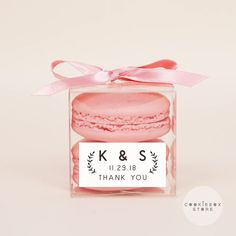 10 Sets of wedding clear macaron packaging, macaron box, wedding favor, macaron favor, macaron gift, bridal shower, baby shower, macaron by CookieboxStore on Etsy