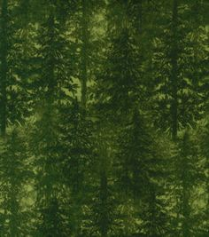 Quilter's Flannel Fabric- Tree Flannel