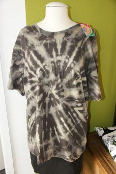 hippie batik shirt diy fashion tees pinterest batik shirt hippie kost m und hippie style. Black Bedroom Furniture Sets. Home Design Ideas