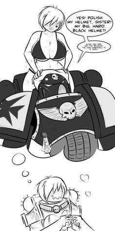 Picture memes by Gone_Lewd - iFunny :) Warhammer 40k Memes, Warhammer Art, Warhammer 40000, Sucubus Anime, Anime Furry, Anime Comics, Game Workshop, Space Marine, Funny Comics