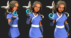 Avatar - new experimental cel-shading project Zbrush Character, 3d Character, Character Design, Avatar The Last Airbender Art, Avatar Aang, Zbrush Tutorial, Avatar Series, Zuko, 3 D