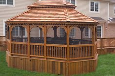 The Deck Builders in Naples Wooden Gazebo, Barn Storage, Deck Builders, North Country, Naples, Pergola, Yard, Outdoor Structures, Classic