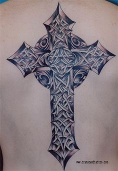 cross tattoo images   Cross Tattoo Cliche By Mattpeterson Grey Dark Black