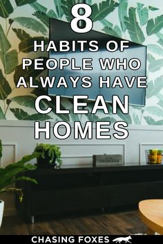 Home decluttering hacks are the key to having a consistently clean home. These organizing ideas will help your home STAY clean. #ChasingFoxes #DeclutteringHacks