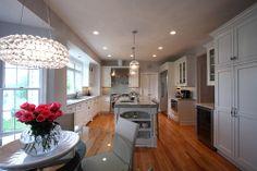 !!!!!!!!!!!!!!!!!!!!!!!!!!!!!!  Modern Lighting + Classic Design - modern - kitchen - dc metro - NVS Remodeling & Design