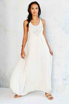 casual flowy white dress - Google Search