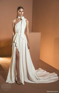 "Dror Kontento 2020 Wedding Dresses ""Desert Spirits"" Bridal Collection - wedding dresses 2020 wedding dress collections, summer 2020 wedding dresses, wedding dresses 2020 collection, wedding dresses 2020 trends, one s. Bridal Collection, Dress Collection, Prom Dresses, Bridesmaid Dresses, Formal Dresses, Evening Wedding Dresses, Sun Dresses, Lace Dresses, Elegant Dresses"