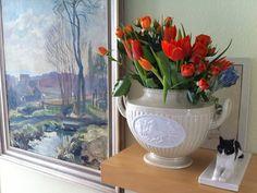 Tulpen und Rosen...