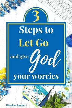 The easiest way to give your worries to God is to remember and reflect on the Promises of God that we find in the Bible. God never leaves us empty-handed or short changes us. He is so gracious with his gifts! Christian Living, Christian Faith, Christian Women, Overcome The World, Bible Translations, God Will Provide, Be Strong And Courageous, I Know The Plans, Parenting Tips