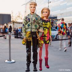 So honored to be styled by for today's show! What do you think of our look - barbiestyle Barbie Blog, Barbie Life, Barbie World, Barbie And Ken, Barbie Model, Barbie Toys, Barbie Clothes, Barbie Style, Barbies Pics