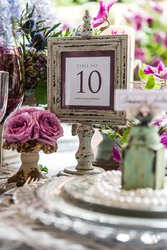 Having a vintage wedding?  Our antique wooden frames are a must-have!