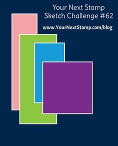 Sketch and Color Challenge #62 | Your Next Stamp