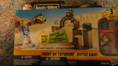 Angry Birds Star Wars Fight on Tatooine
