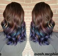 Bilderesultat for oil slick hair color
