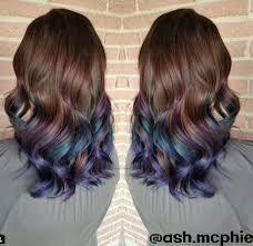 Bilderesultat for oil slick hair color