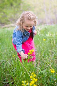 Spring Children's Photography - Denver Colorado Children's Photographer - Erin Jachimiak Photography