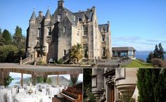 Kyla Gold Destination Wedding Location Inspiration | Castle Wedding Venues in Scotland | Stonefield Castle