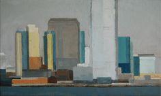 """Gineke Zikken """"New York"""" x 50 cm) Amsterdam, Paintings, York, City, Nostalgia, Paint, Painting Art, Cities, Painting"""
