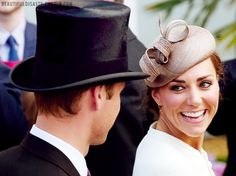 6/4/2011: Investec Derby Festival at Epsom Downs Racecourse, with Prince William (Epsom, Surrey)