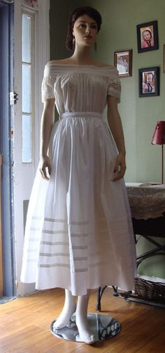 A lovely civil war under the hoop petticoat by handstitchesintime