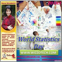 World Statistics Day  The World Statistics Day was observed across the world on 20 October 2015 with the theme Better Data Better Lives. This year celebrations mark the second observance of the World Statistics Day.  #RuzanKhambatta #Day #specialcelebration #PoliceHEART1091 #PoliceHEART #Entrepreneur #Celebrate #WorldDay #National #NationalDay #InternationalDay #International #UN #US #SpecialDay #India #WorldStatisticsDay