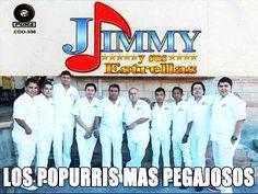 Jimmy y Sus Estrellas - Los Mejores Popurris.