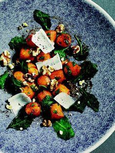 Sweet Potato Gnocchi with Kale, Sage