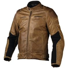 Dainese R-Twin Pelle Tobacco Leather Jacket