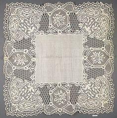 English (Bedfordshire), bobbin lace, 19th century.