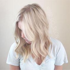 Icy blonde, cool blonde