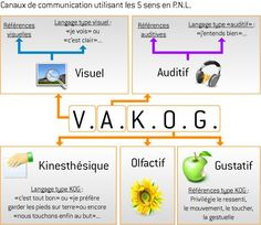 Canaux de communication utilisant les 5 sens en PNL
