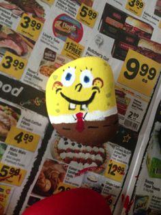 sponge Bob rock pet!