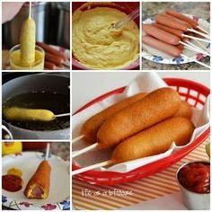 más y más manualidades: Prepara deliciosas banderillas de salchicha con esta receta
