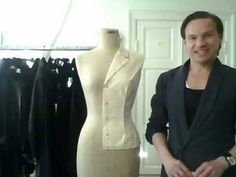 TUTORIAL! 5. How to drape a basic ladies' jacket, the sleeve - by bespoke tailor Sten Martin